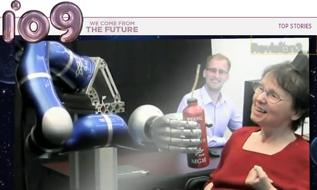 Robot uprising, or humans becoming cyborgs?